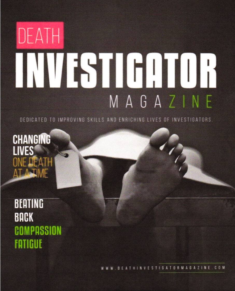 Dotti Owens Featured Featured in National Death Investigator Magazine